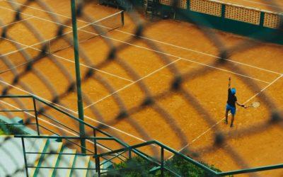 Pro Tennis Players Training